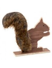 Wooden animal Nordic Scandinavian woodland Decoration Ornament Squirrel decor