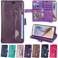 For Samsung Galaxy J7 Star/J7 2018 SM-J737 Wallet Leather Case Card Pocket Cover