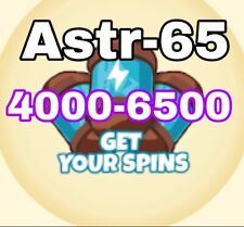 Coin Master Spins 4000-6500 READ DESCRIPTION- Fast Delivery 🚚 📦🚚