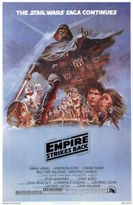"Star Wars: Episode V - Empire Strikes Back - Movie Poster (Style B) (27"" X 40"")"