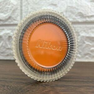 Genuine Nikon 52mm Circular Threaded Orange O56 Contrast Lens Filter Japan EXC+