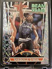 Shaquille O'Neal 1992-93 Stadium Club Basketball Beam Team Card Orlando Magic