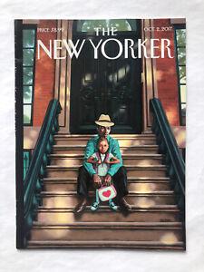 New Yorker York NYC Culture Life Brooklyn Stoop Family Kadir Nelson Oct 2017