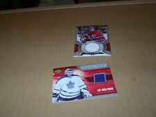 2006/07   UD  GAME JERSEY CARD # J-EB  ED BELFOUR COLOR OF JERSEY BLUE