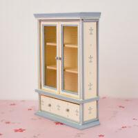 1/12 Bookshelf Accessory Dollhouse Miniature Furniture Wood Cabinet Bookcase