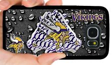 MINNESOTA VIKINGS PHONE CASE FOR SAMSUNG GALAXY & NOTE S6 S7 EDGE S8 S9 S10 PLUS