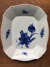 Royal Copenhagen Blue Flowers Braided Cake Plate Bowl Platter #1717 Ex+