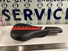 Cannondale Comfort Bicycle Saddle Black/Red  Color  Mountain Bike