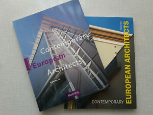 Contemporary European Architects, 2 Bde. illustr., Großformat, Softcover Taschen