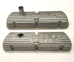 Original 289 Cobra Buddy Bar 65-66 Shelby GT350 Mustang open letter valve covers