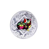 Silver plated the chinese zodiac pig commemorative coin 2019 souvenir artco R8Y