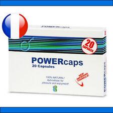 PowerCaps® 20 gélules stimulant sexuel aphrodisiaque VIAMAX
