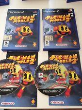 Pac-Man World 2 per Playstation 2 PS2 In Ottime Condizioni!