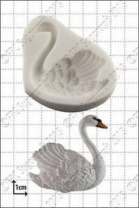 Silicone mould Swan (right) | Food Use FPC Sugarcraft FREE UK shipping!