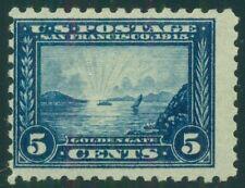 US #403 5¢ blue, og, NH, PSE certificate Grade VG50, rich color, Scott $390.00