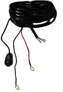 Wide Open Light Bar Wire Harness W/ Relay