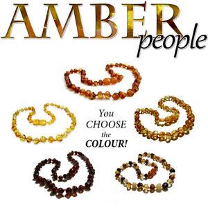 Genuine & Authentic BALTIC AMBER Child NECKLACES Healing Gemstone