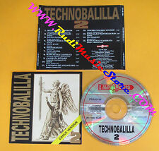 CD Compilation TECHNOBALILLA 2 CD AR 3198 ITALY 1992 no mc lp mc dvd vhs (C35)