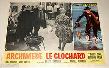 fotobusta originale ARCHIMEDE LE CLOCHARD Jean Gabin Gilles Grangier 1959 #4