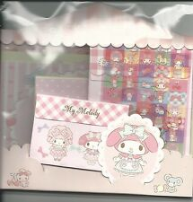 Sanrio My Melody Stationery Envelope Sticker Large Set