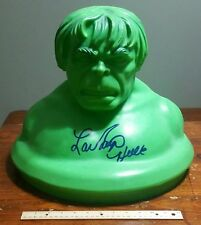 Incredible Hulk Signed 1978 Huge Toy Box Cover LOU FERRIGNO Big Autograph Marvel