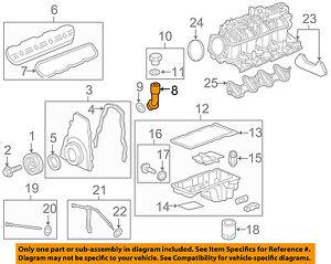 GM OEM Engine-Oil Fluid Filler Tube 12609624