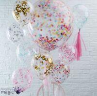 5Pcs Balloon Confetti kit Balloons for Birthday Party Weddings Bridal Decor