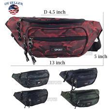 Fanny Pack Men Women Waist Belt Bag Purse Hip Pouch Travel Sport Bum (357)