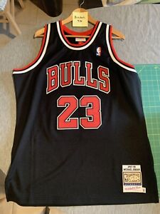authentic mitchell and ness michael jordan jersey Size 48 (XL)