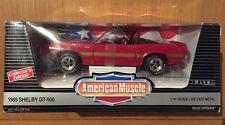Ertl American Muscle 1969 Shelby GT-500 1/18 Scale Die-Cast, MIB