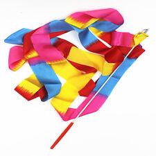 Latest Dance Ribbon Art Gymnastic Streamer Baton Twirling Rod Training Equipment