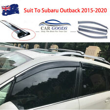 Injection Weathershields Door Visor Window Visor for Subaru Outback 2015-2020