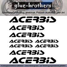 Acerbis Aufkleber Set Farbwahl Motorrad Kleidung Motorbike Clothing Cross