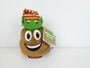 Kids of America Poop Emoji Plush Dancing Farting Elf w/ Batteries