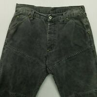 G-Star Raw ELWOOD Mens HEAVY DENIM LOOSE BAGGY Jeans W34 L32 Relaxed Straight
