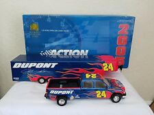 Jeff Gordon 1:24 Scale Crew Cab & Show Trailer with COA