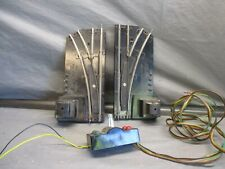 American Flyer S Scale 2 Turnouts - 1 LH & 1 RH w/Controller Untested