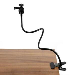 "25"" Webcam Stand Holder Gooseneck Flexible Clamp Mount for Gopro Camera Logitech"