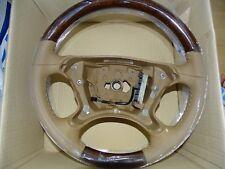 Mercedes Classe E w211 holzlenkrad Cuir Bois Volant r230 w219 w209 CLK SL CLS