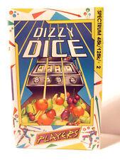 RETRO SPECTRUM-CASSETTE GAME- DIZZY DICE -USED 48K
