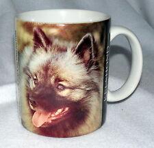 Xpress Dog Mug Keeshond Coffee Mug Cup Barbara Augello 1994 S31