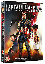 Captain America - The First Avenger (DVD, 2011)