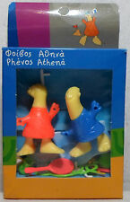 OLYMPICS ATHENS 2004 ATHENA PHEVOS FIGURES WITH ACCESSORIES BOXED UNUSED MIP