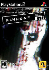 Manhunt (Sony PlayStation 2, 2003) Rated Mature 17+, This is a Brutal blood spor