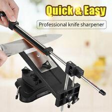 FJ- AM_ Kitchen Knife Sharpener Grinding Device Fix-angle Whetstones Sharpening