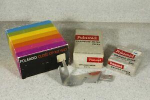 Polaroid Accessories: Close-Up 543, Exposure Meter Pr-22, Filter, Bounce Flash