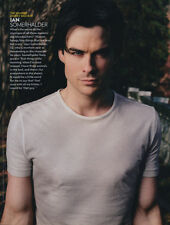 Ian Somerhalder (The Vampire Diaries) 1pg PEOPLE magazine feature, clippings