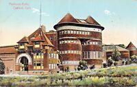 OAKLAND CALIFORNIA~PIEDMONT BATHS POSTCARD 1910 PSTMK