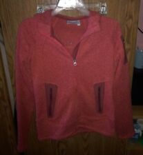 Athleta Red Sweater Jacket With Hood. Petite. Size XXS