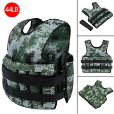 Adjustable Weighted Vest Weight Training Fitness Workout Exercise Jacket 20kg